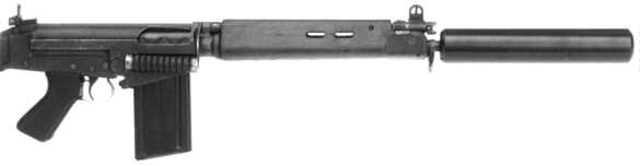 Reflex Suppressor For Fal L1a1